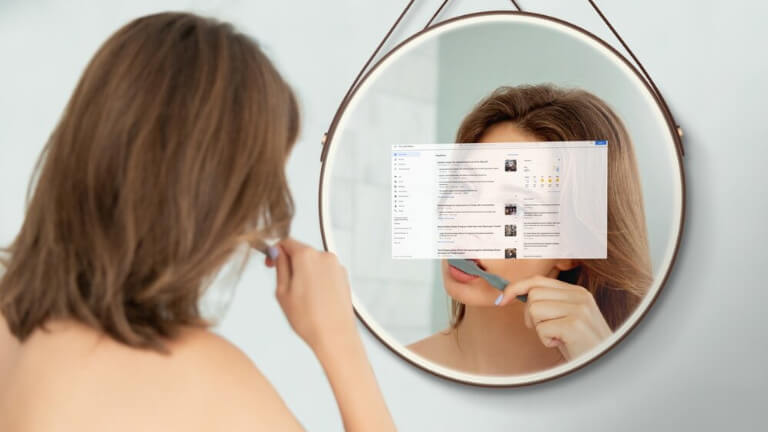 Miroir intelligent Hilo
