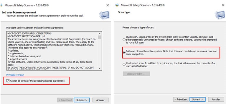 microsoft safety scanner comment installer scanner ordinateur windows 10